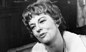 Uta Hagen on Broadway as Martha in Edward Albee's play 'Who's Afraid of Virginia Woolf?' in 1963