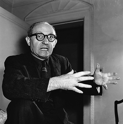 Acting Teacher and Actor Lee Strasberg, 1956